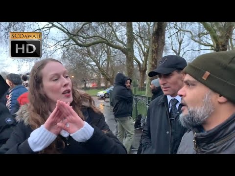 You will go to Hell! Hashim & Christian Lady | Speakers Corner | Hyde Park