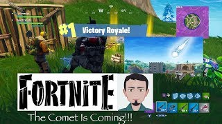 Fortnite's Comet Is Getting Closer!!!!!! (Skip to 1:46:00 & keep watching. Shows comet moving!!!)