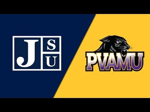 2019 SWAC Football Jackson State Vs Prairie View