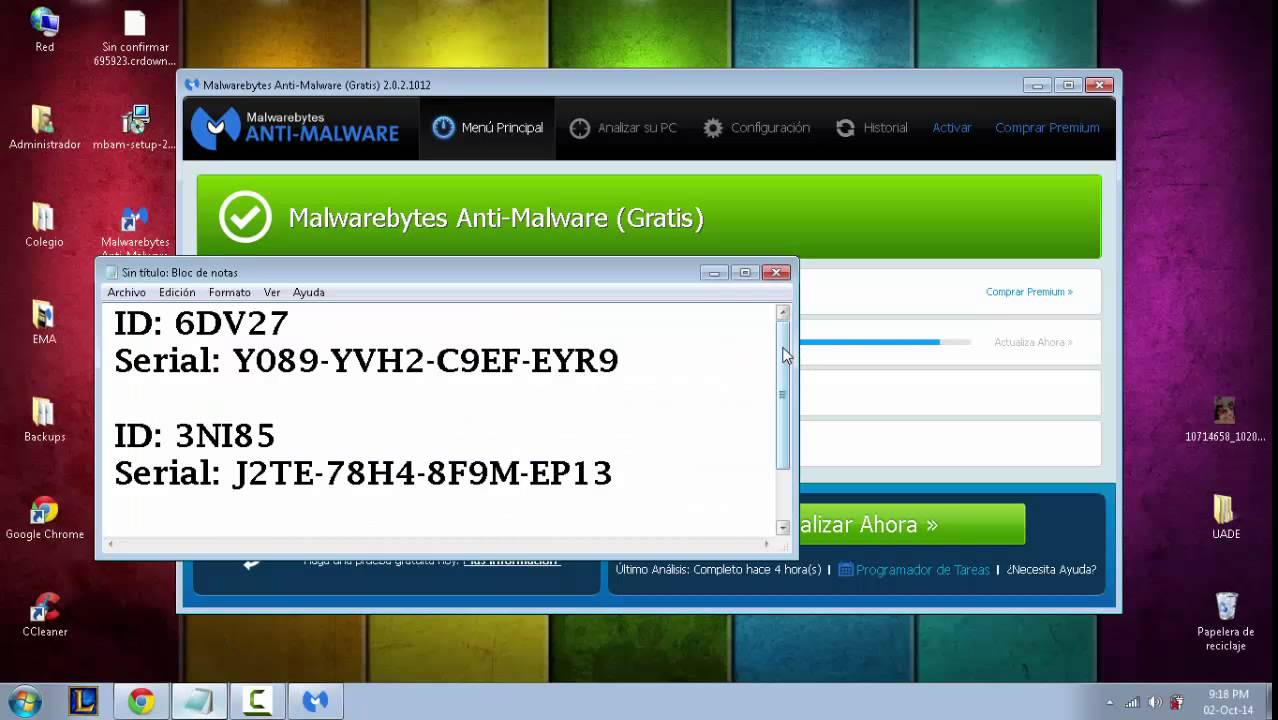 Malwarebytes 3.3 1 key largo