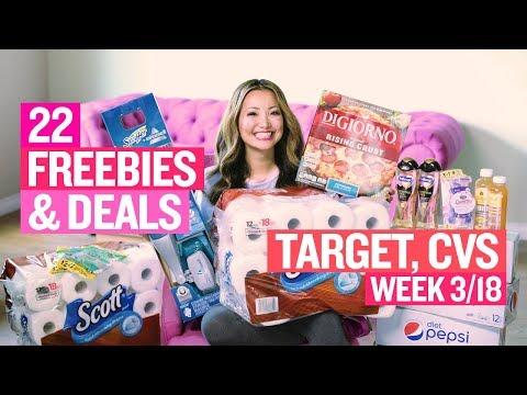 ★ 22 Freebies & Deals at Target & CVS (Week 3/18-3/24)