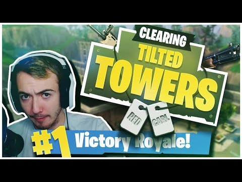 CLEARING EVERY TEAM OUT OF TILTED TOWERS! (Crazy Fortnite Highlights)