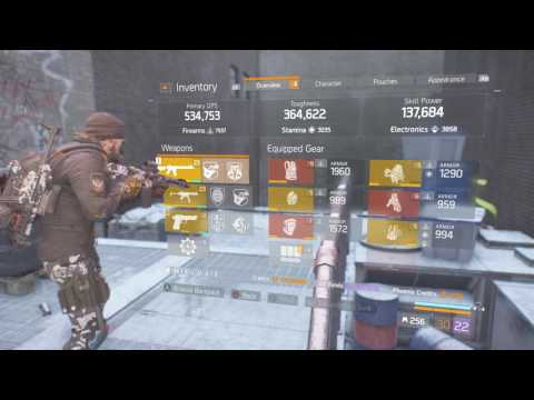 The Division   Amazing All Gold and Exotic DPS Build , Teach