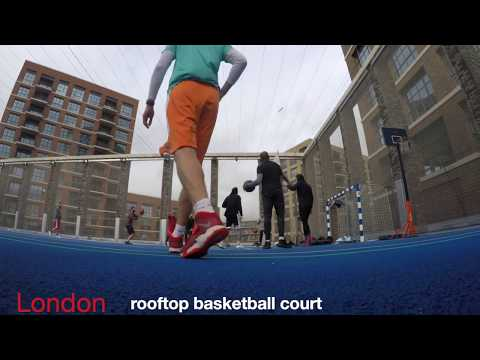 London Rooftop Basketball Court