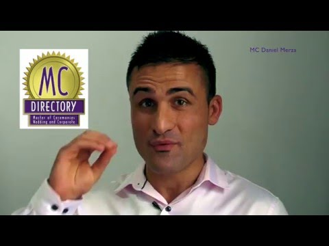 MC DIRECTORY Discover Enthusiastic Emcee and Dynamic Speaker Mr Daniel Merza Rave