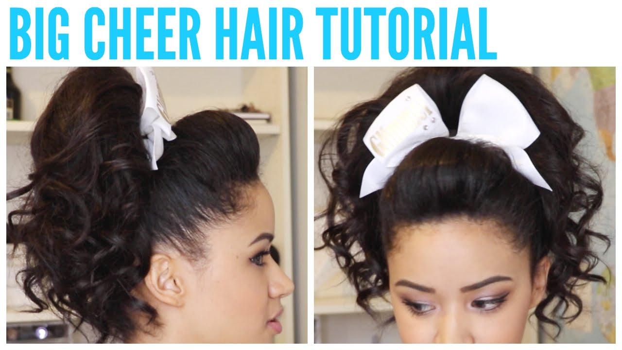 big cheer hair tutorial perfect