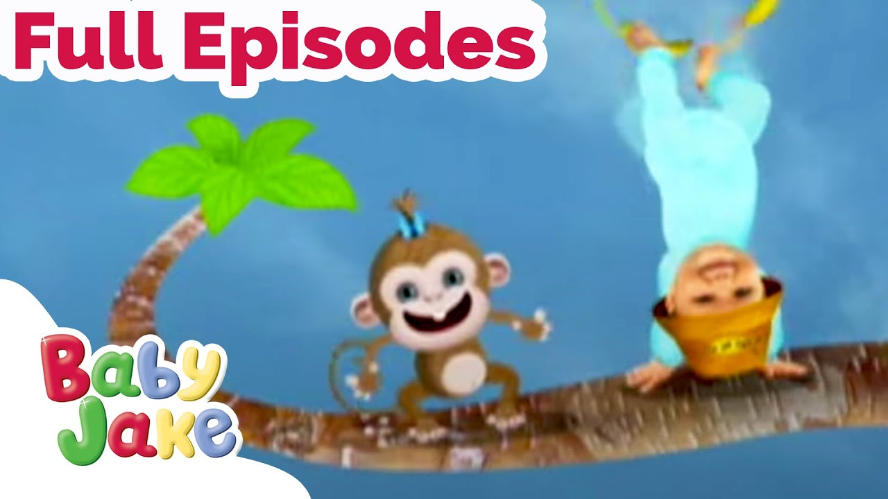 Baby Jake | Being Upside Down | Full Episodes