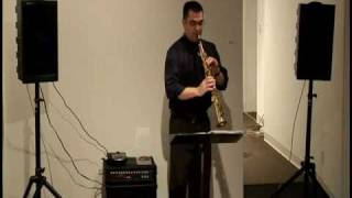 Ulpirra by Ross Edwards, Jeremy Justeson, soprano sax - classical concert saxophone solo
