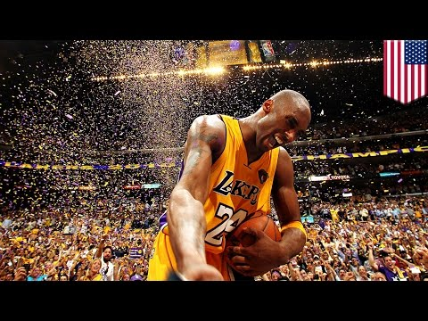 Kobe Bryant's epic NBA career with the Los Angeles Lakers in animation, 1996-2016 - TomoNews