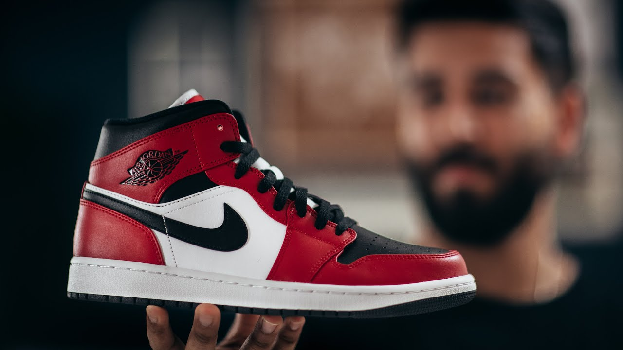 WHY YOU NEED THE JORDAN 1 MID CHICAGO BLACK TOE: REVIEW & ON FEET