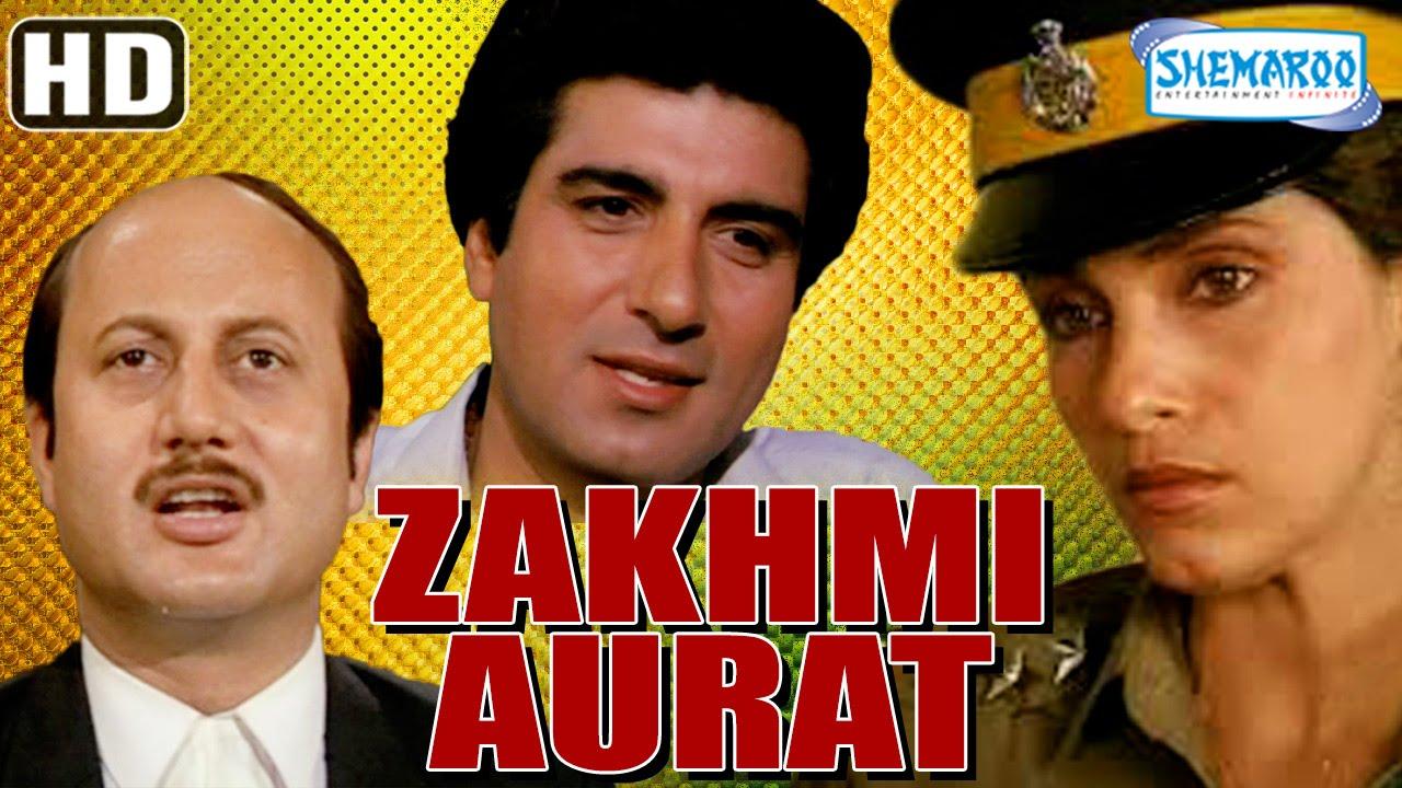 Download Zakhmi Aurat {HD} Raj Babbar - Dimple Kapadia - Anupam Kher - Hindi Full Movie (With Eng Subtitles)