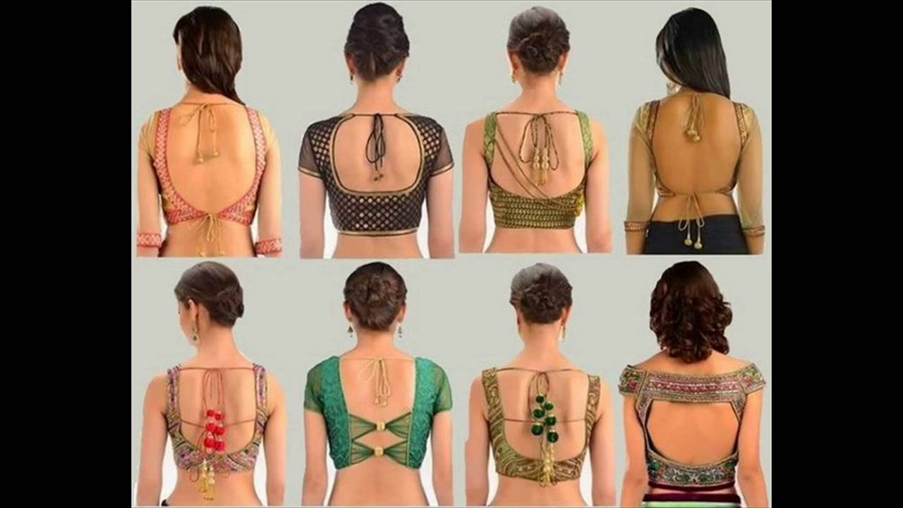 Latest Saree Blouse Designs 2016 Youtube