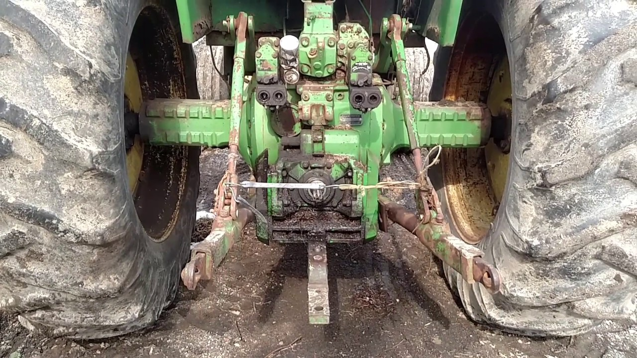 hight resolution of  5200 tractor wiring diagram john deere 3 point hitch operation youtube