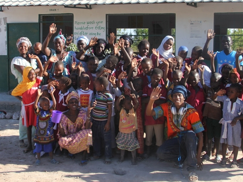 GANG HELPS TO BUILD AND FUND SCHOOLS AND ORPHANAGES IN GAMBIA!!!!!!!