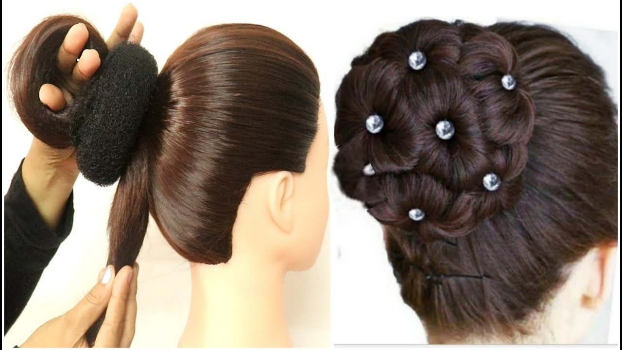 amazing juda hairstyle for bridal    wedding hairstyle    hair style girl    simple hairstyle ...