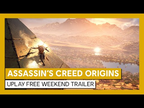 Assassin's Creed Origins Uplay Free Weekend Trailer