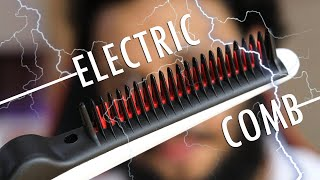 Is the Electric Hair Straightening Comb Worth it ?
