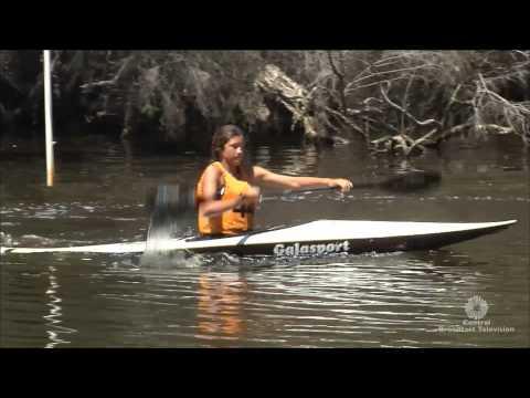 2014 Canoing Down Under K1 TV Challenge - Full program