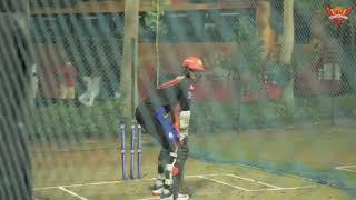 Abhishek Sharma Batting | Sunrisers Hyderabad Practice Session | IPL 2021 Practice Session