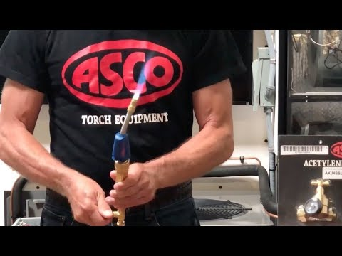 ASCO Acetylene Torch Live Demo: Features And Benefits