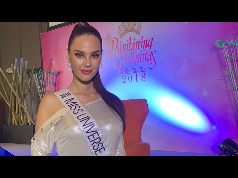 Catriona Gray ready to win the Miss Universe 2018 crown