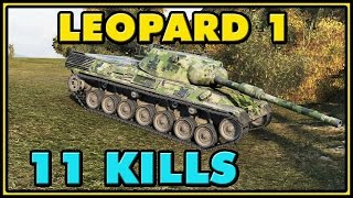 World of Tanks | Leopard 1 - 11 Kills - 7.9K Damage