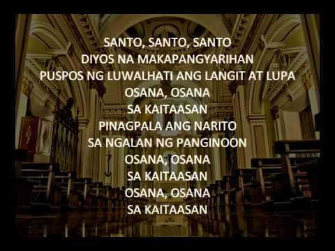 Santo (Francisco) Instrumental Karaoke