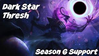 League of Legends: Dark Star Thresh Support Gameplay