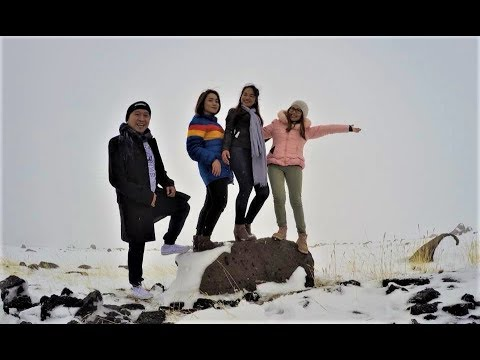 ARMENIA AND GEORGIA TOUR - Day 4 EXPERIENCE SNOW IN ARMENIA!!! (Mt Aragat_