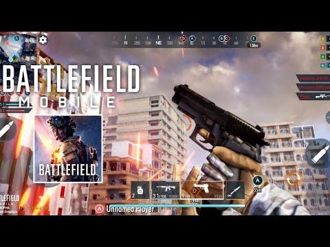 El primer video del juego de Battlefield Mobile surge de la prueba alfa