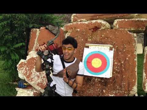 🔴ARCO DE CAÇA ONEIDA   Arco Hibrido (Eagle Camuflado 80- 100lbs) - Arco Review #05