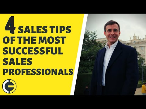 4-sales-tips-of-the-most-successful-sales-professionals