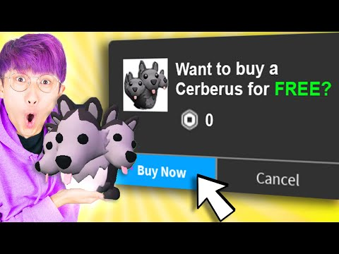 Can We Reveal HOW TO GET A FREE CERBERUS In ADOPT ME!? (NEW ROBLOX ADOPT ME HALLOWEEN PETS FOR FREE)