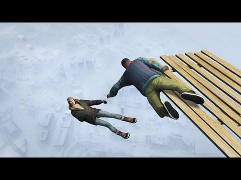 GTA 5 Winter ragdolls episode 1 (Funny Moments)