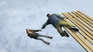 GTA 5 Winter ragdolls episode 1 (Funny Moments)