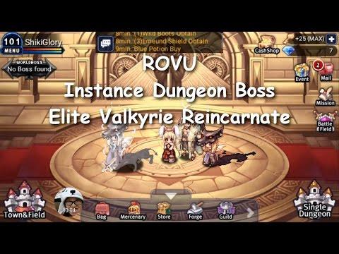 ROVU - Instance Dungeon Boss Chico Choco (Elite Valkyrie Reincarnate)