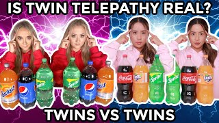 TWIN TELEPATHY TEST ~ TWINS VS TWINS!  (Results Are Insane)