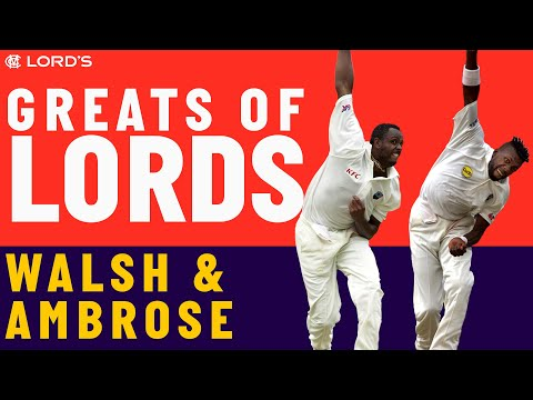 Courtney Walsh vs Curtly Ambrose | Who's The Greatest?
