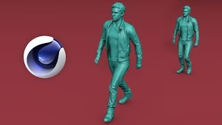 Rig u0026 Animate a Character in 2 Minutes - CINEMA 4D