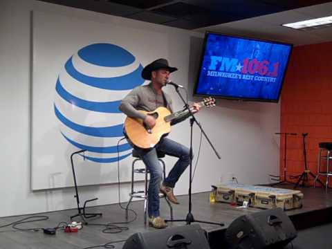 Craig Campbell  Mas Tequila Por Favor   in the FM1061 AT&T Access Granted Lounge 21617