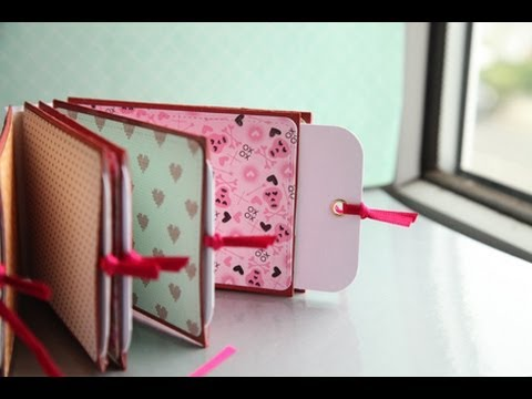 Special Project for Emilia #3 Mini TP Roll Album Tutorial