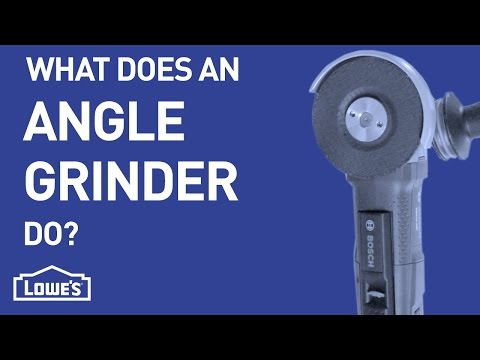 What Does An Angle Grinder Do? | DIY Basics