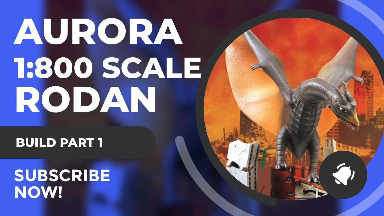 Aurora Monsters Build Series: Rodan Part 1