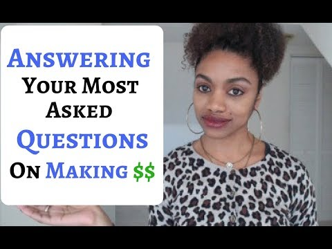 How I Make Money?Jobs For Introverts? Jobs In Africa? Are These Scams? & More!!