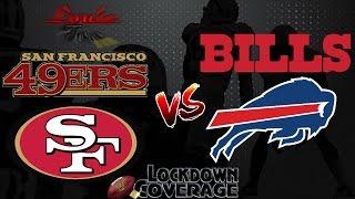 NFL Football 2016 Recap: 49ers vs. Bills (Week 6) (Lockdown Coverage)  #LouieTeeLive