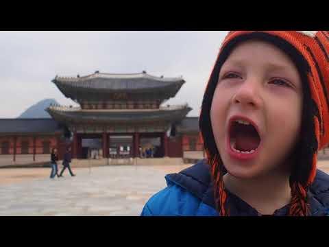 Seoul, South Korea - Day Three // Family Travel Vlog