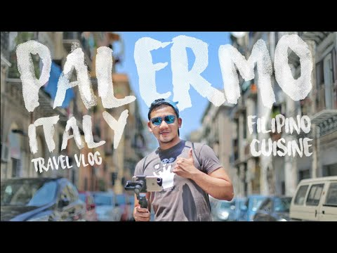 Delicious Filipino Food in Italy | PALERMO TRAVEL VLOG_009 | Ian Ranez