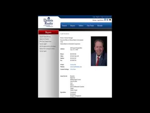 Carl Stratton Realtor Dennis Realty Lutz FL Threatens Lawsuit Over Negative Review