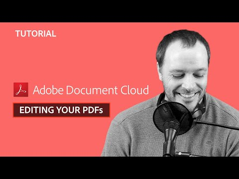 edit pdf acrobat dc youtube