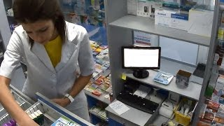 Видеонаблюдение в аптеке и ЦОП СИТИЛАБ в Поварово(Система безопасности от ЮНИМАКС http://www.umx.ru/ установленная на аптеке и центре обслуживания пациентов СИТИЛА..., 2015-03-27T13:13:16.000Z)